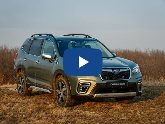 Video Review: SUBARU FORESTER ESTATE 2.0i e-Boxer XE 5dr Lineartronic