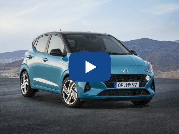 Video Review: HYUNDAI I10 HATCHBACK 1.0 MPi Premium 5dr Auto [Tech Pack]
