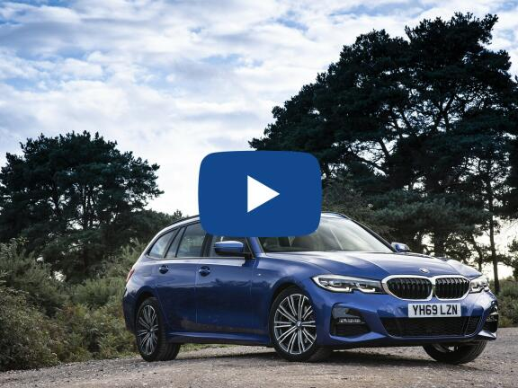 Video Review: BMW 3 SERIES TOURING 318i M Sport 5dr Step Auto [Tech Pack]