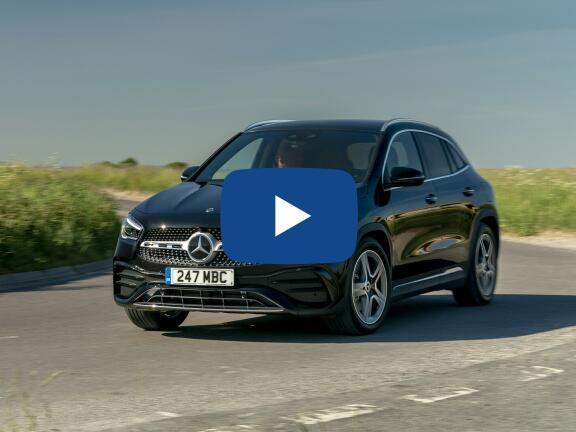 Video Review: MERCEDES-BENZ GLA DIESEL HATCHBACK GLA 200d AMG Line 5dr Auto