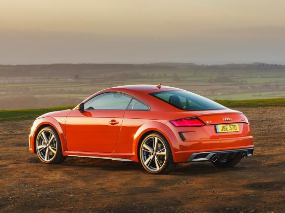 AUDI TT COUPE 45 TFSI Quattro Black Edition 2dr S Tronic [Tech]