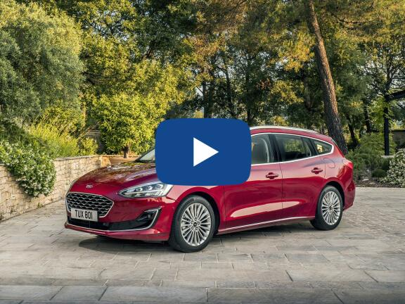 Video Review: FORD FOCUS DIESEL ESTATE 1.5 EcoBlue 120 ST-Line X Edition 5dr