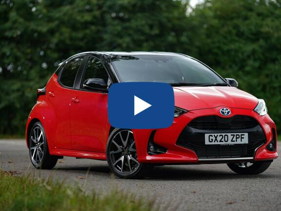 Video Review: TOYOTA YARIS HATCHBACK 1.5 Hybrid Excel 5dr CVT [Panoramic Roof]