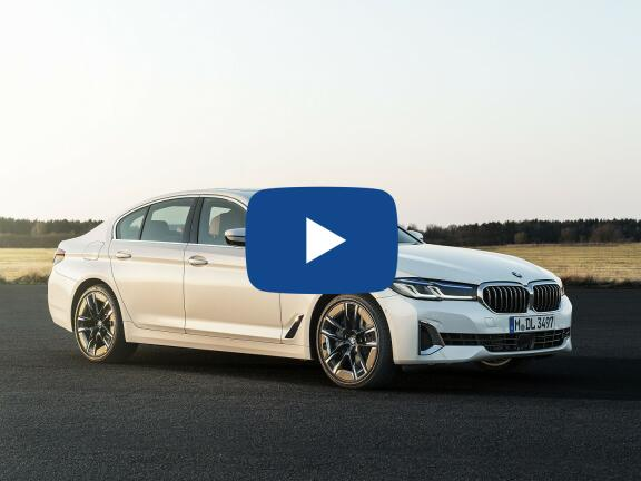 Video Review: BMW 5 SERIES SALOON 520i MHT M Sport 4dr Step Auto