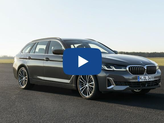 Video Review: BMW 5 SERIES DIESEL TOURING 520d xDrive MHT SE 5dr Step Auto