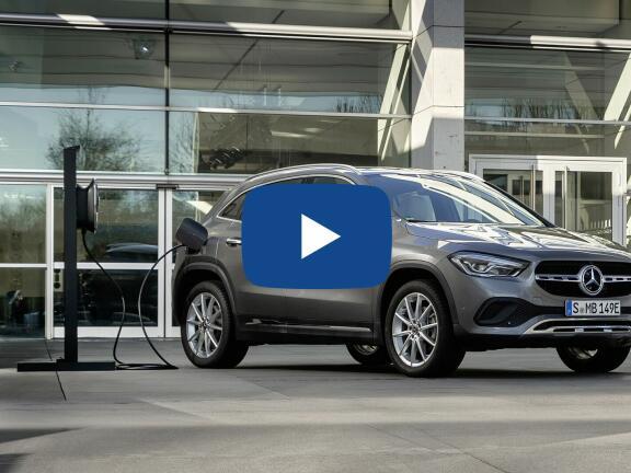 Video Review: MERCEDES-BENZ GLA HATCHBACK SPECIAL EDITIONS GLA 250e Exclusive Edition Premium 5dr Auto