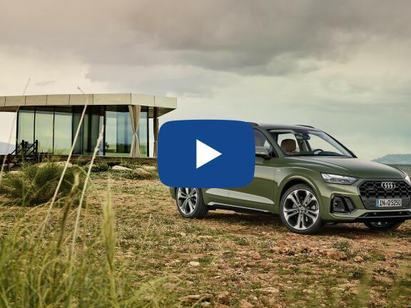 Video Review: AUDI Q5 ESTATE 45 TFSI Quattro S Line 5dr S Tronic [C+S]