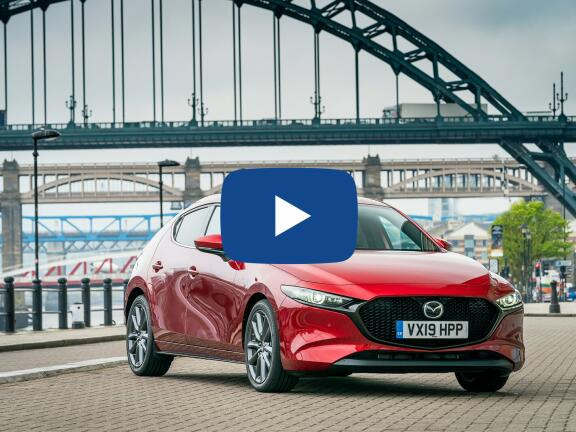 Video Review: MAZDA MAZDA3 HATCHBACK SPECIAL EDITION 2.0 Skyactiv-X MHEV 100th Anniversary Edition 5dr