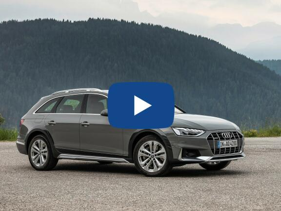 Video Review: AUDI A4 DIESEL ALLROAD ESTATE 40 TDI 204 Quattro Sport 5dr S Tronic