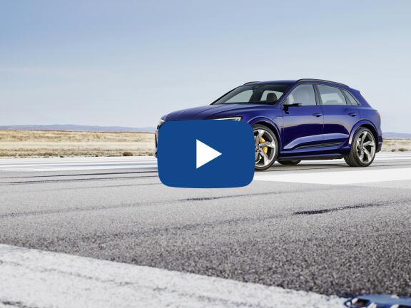 Video Review: AUDI E-TRON ESTATE 370kW S Quattro 95kWh 5dr Auto [C+S]
