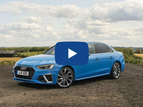 Video Review: AUDI A4 SALOON 40 TFSI 204 S Line 4dr S Tronic [Comfort+Sound]
