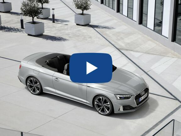 Video Review: AUDI A5 CABRIOLET SPECIAL EDITIONS 40 TDI 204 Quattro Edition 1 2dr S Tronic