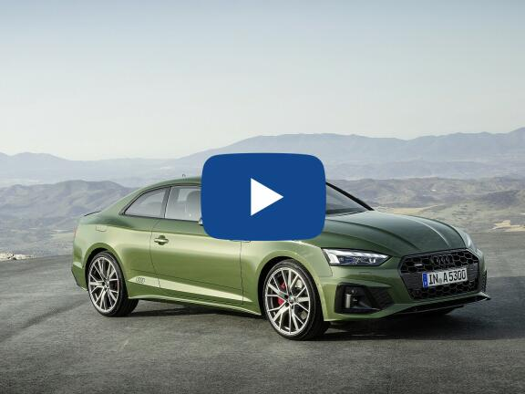 Video Review: AUDI A5 COUPE 40 TFSI 204 Sport 2dr S Tronic