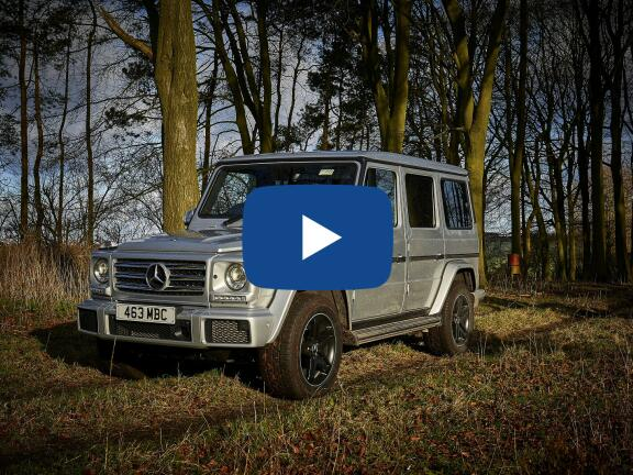 Video Review: MERCEDES-BENZ G CLASS DIESEL STATION WAGON G400d Edition 5dr 9G-Tronic