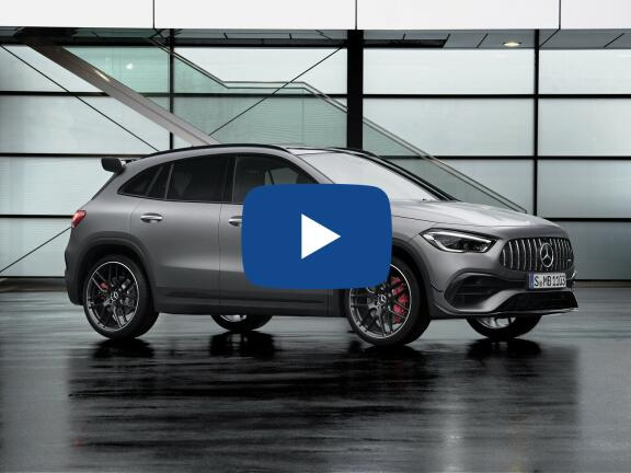 Video Review: MERCEDES-BENZ GLA AMG HATCHBACK GLA 45 S 4Matic+ 5dr Auto