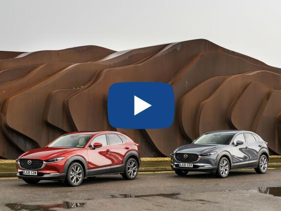 Video Review: MAZDA CX-30 HATCHBACK 2.0 e-Skyactiv-X MHEV Sport Lux 5dr