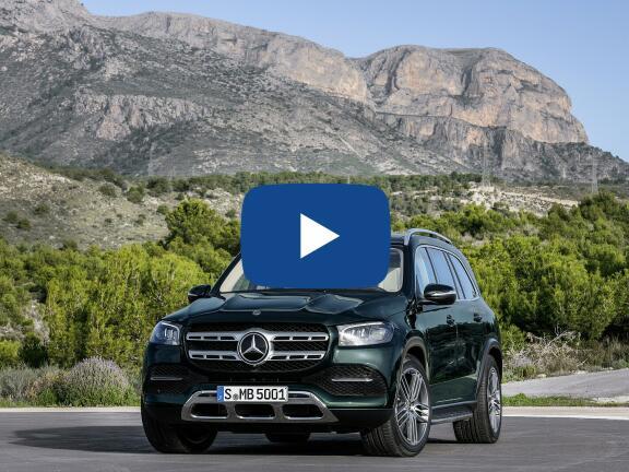 Video Review: MERCEDES-BENZ GLS DIESEL ESTATE GLS 400d 4Matic AMG Line Prem + Exec 5dr 9G-Tronic