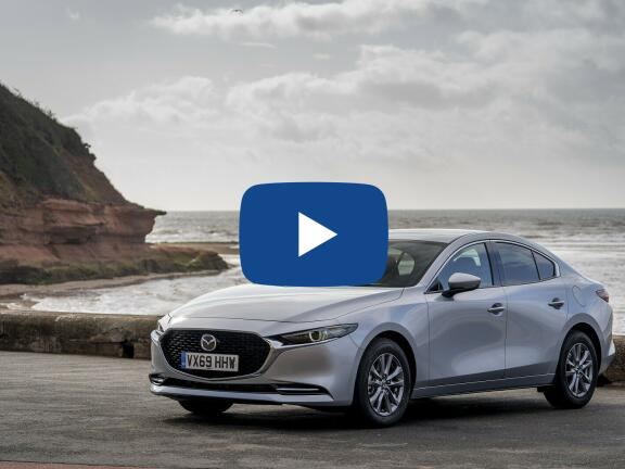 Video Review: MAZDA MAZDA3 SALOON 2.0 Skyactiv-X MHEV Sport Lux 4dr Auto