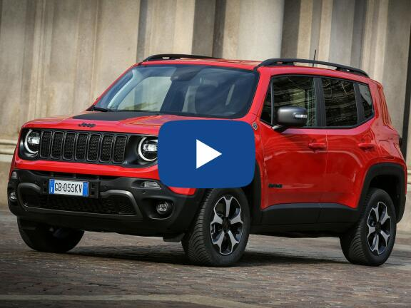 Video Review: JEEP RENEGADE HATCHBACK 1.3 Turbo 4xe PHEV 190 Longitude 5dr Auto