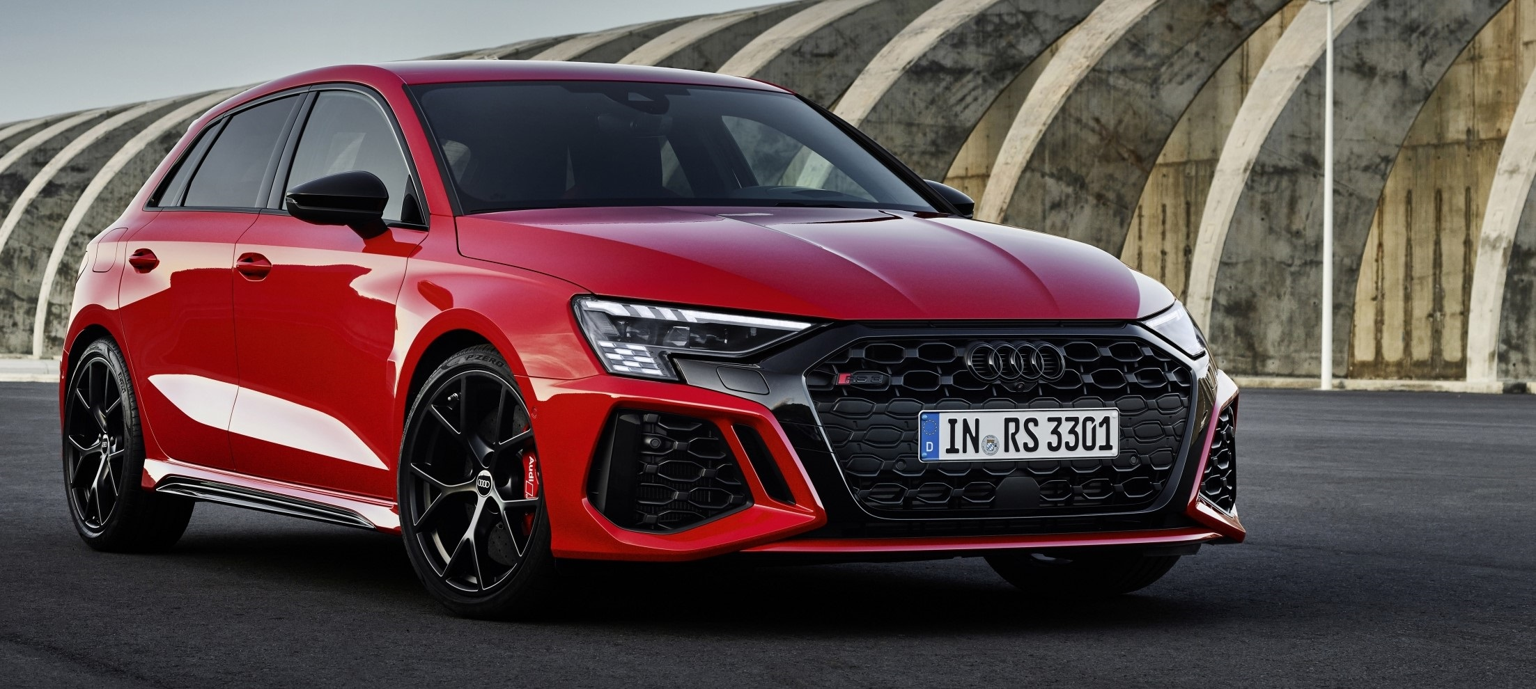 New Audi RS 3 delivers unmatched sportiness