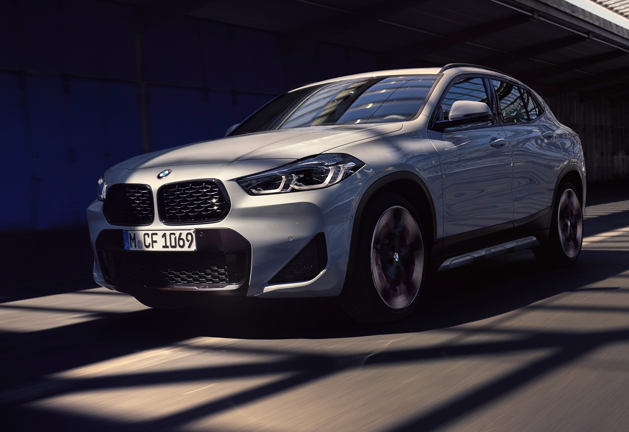 The BMW X2 M Mesh Edition revealed