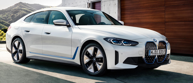 New BMW i4 electric car arrives