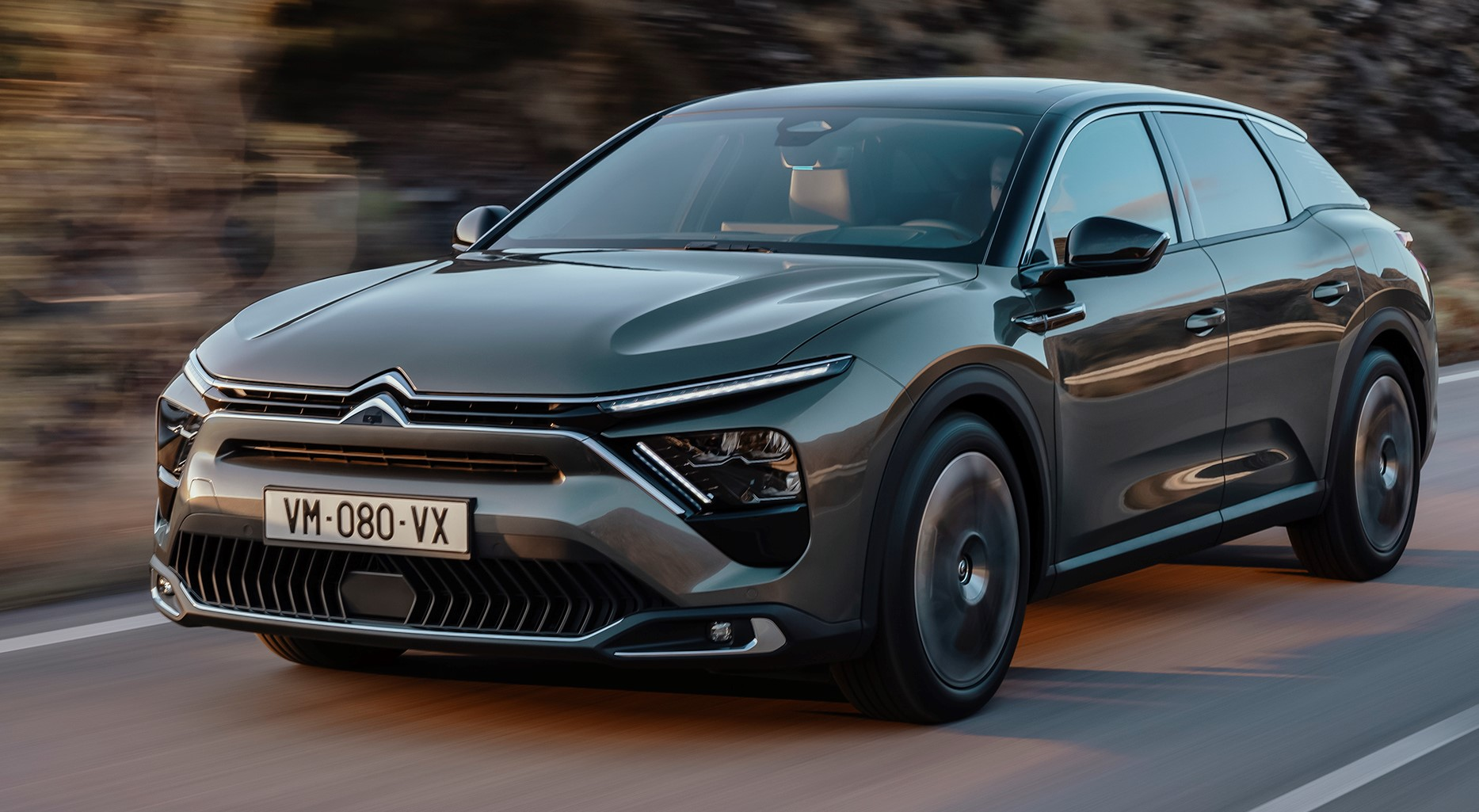 The new Citroen C5 X is unveiled