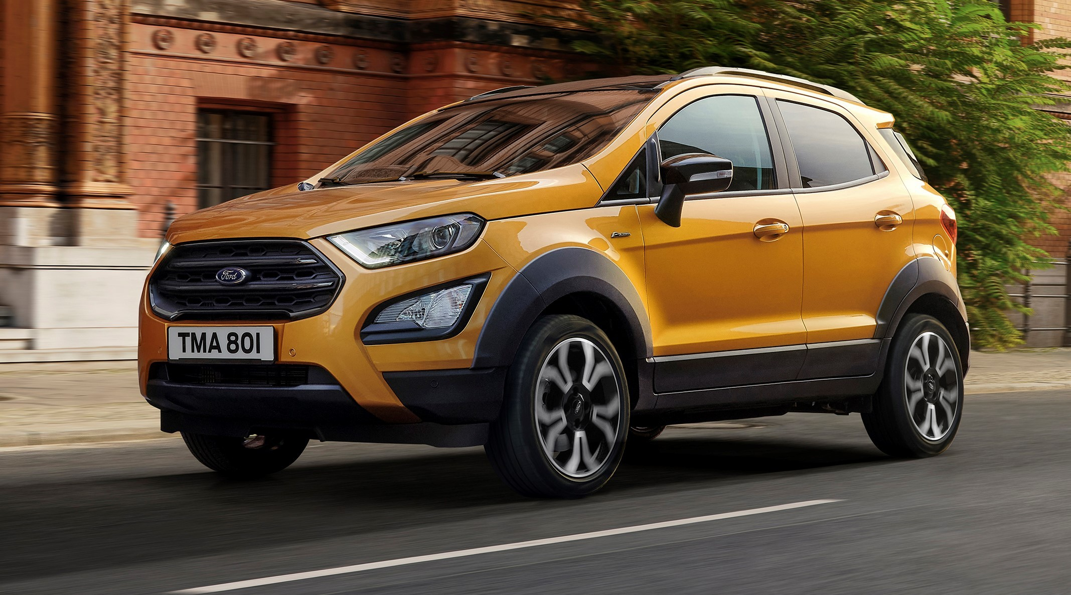 New Ford EcoSport Active revealed