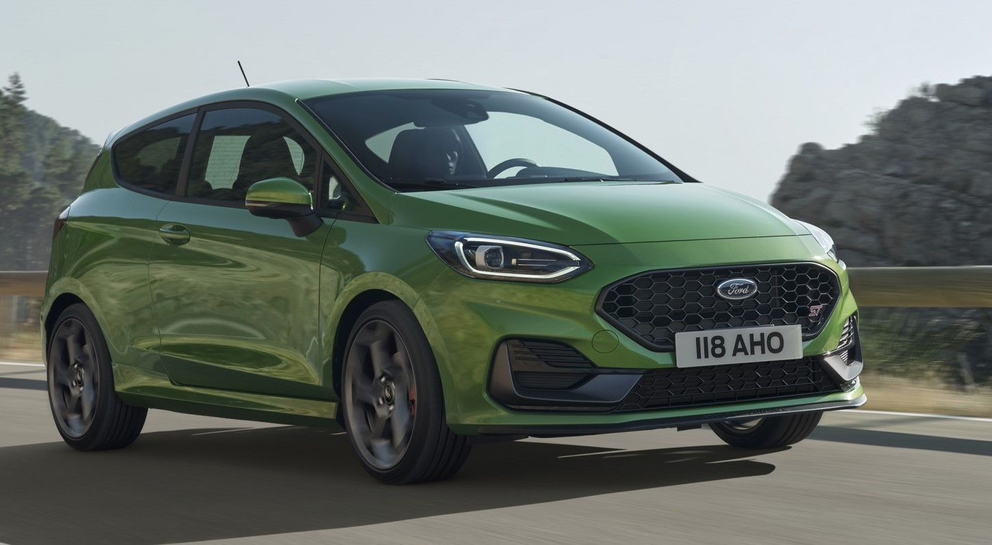 The new Ford Fiesta takes a bow