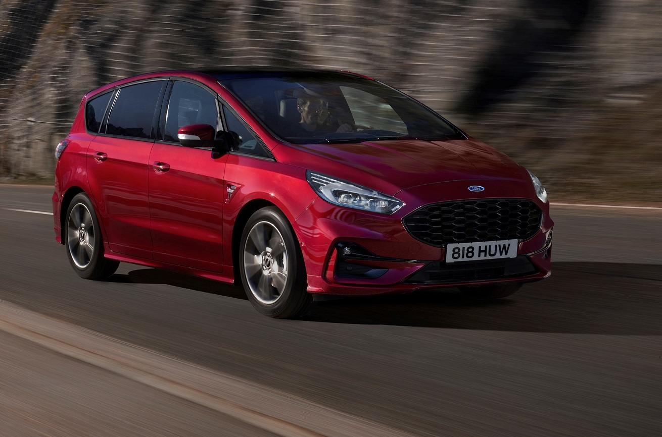 New Ford S-Max Hybrid is electric