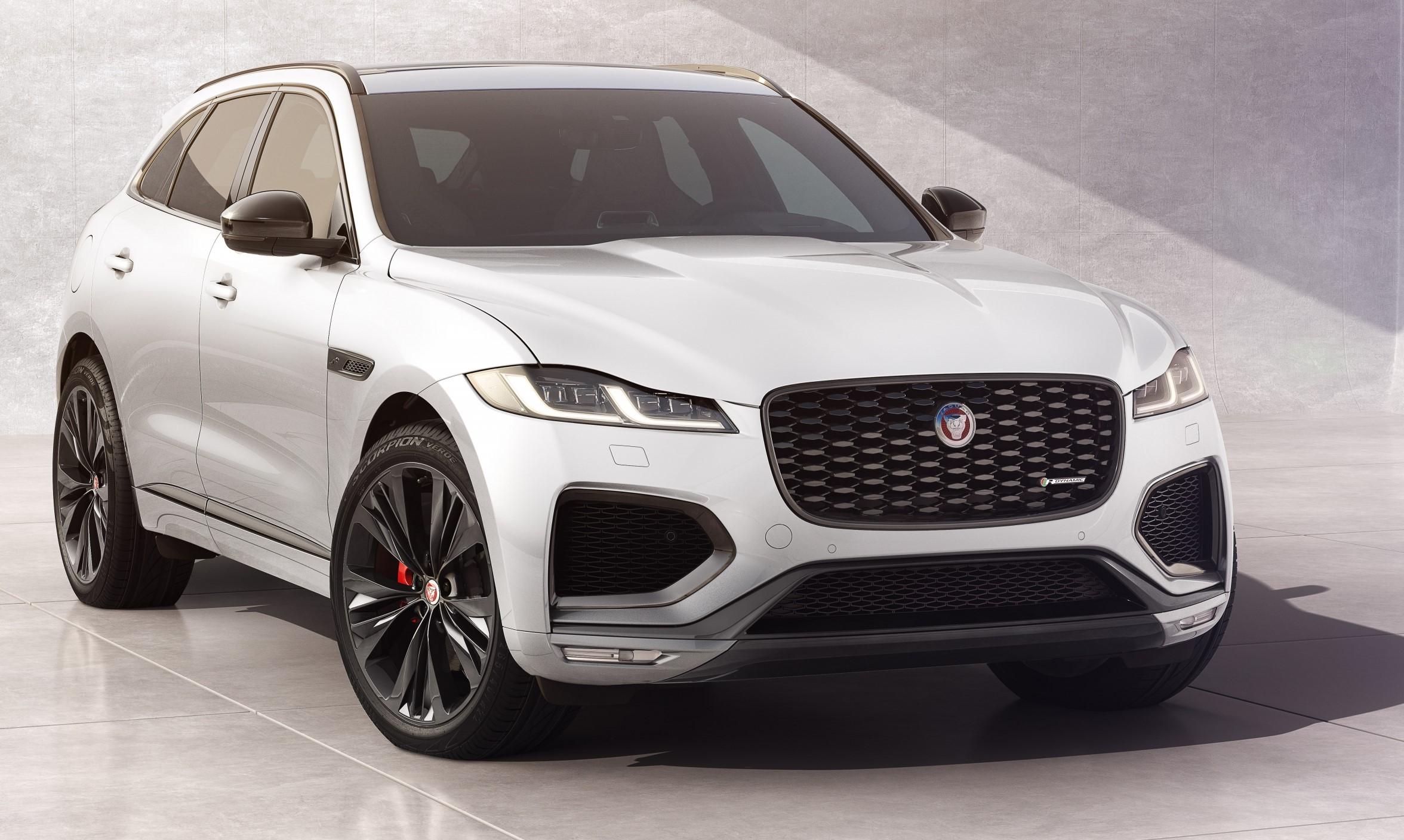 The Jaguar F-Pace R-Dynamic Black model unveiled