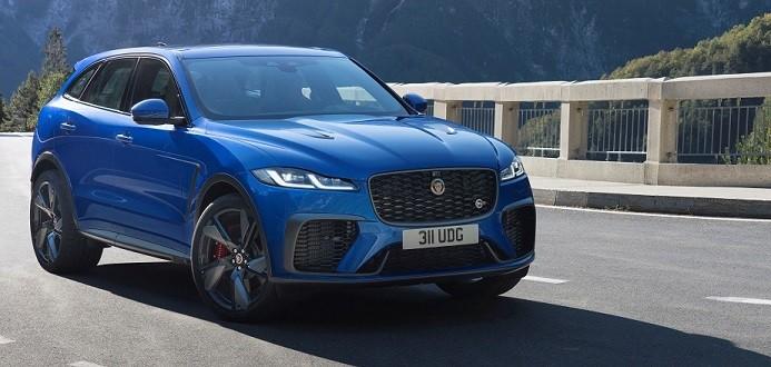 The Jaguar F-Pace SVR gets an update