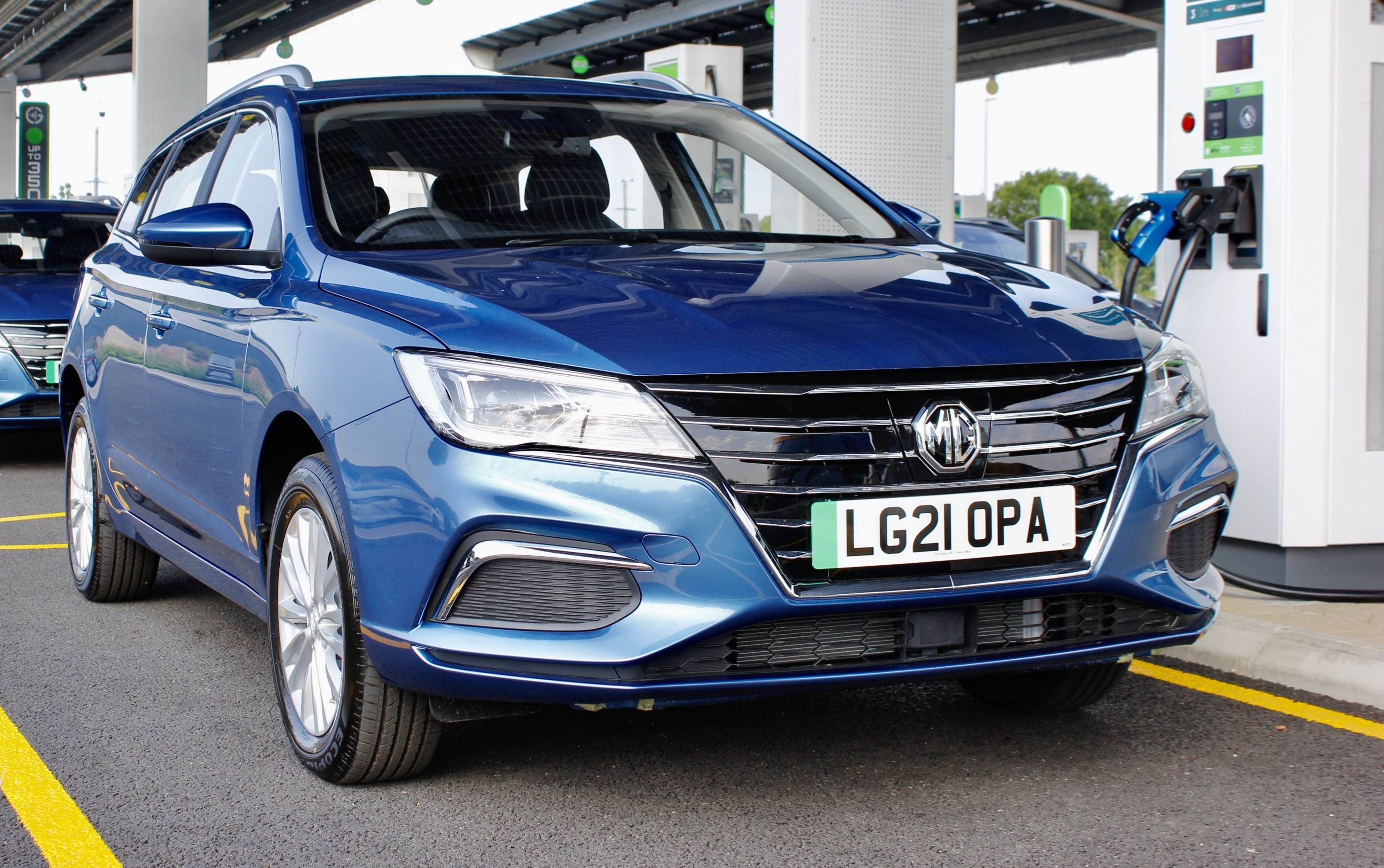 The MG MG5 EV now delivers a longer range