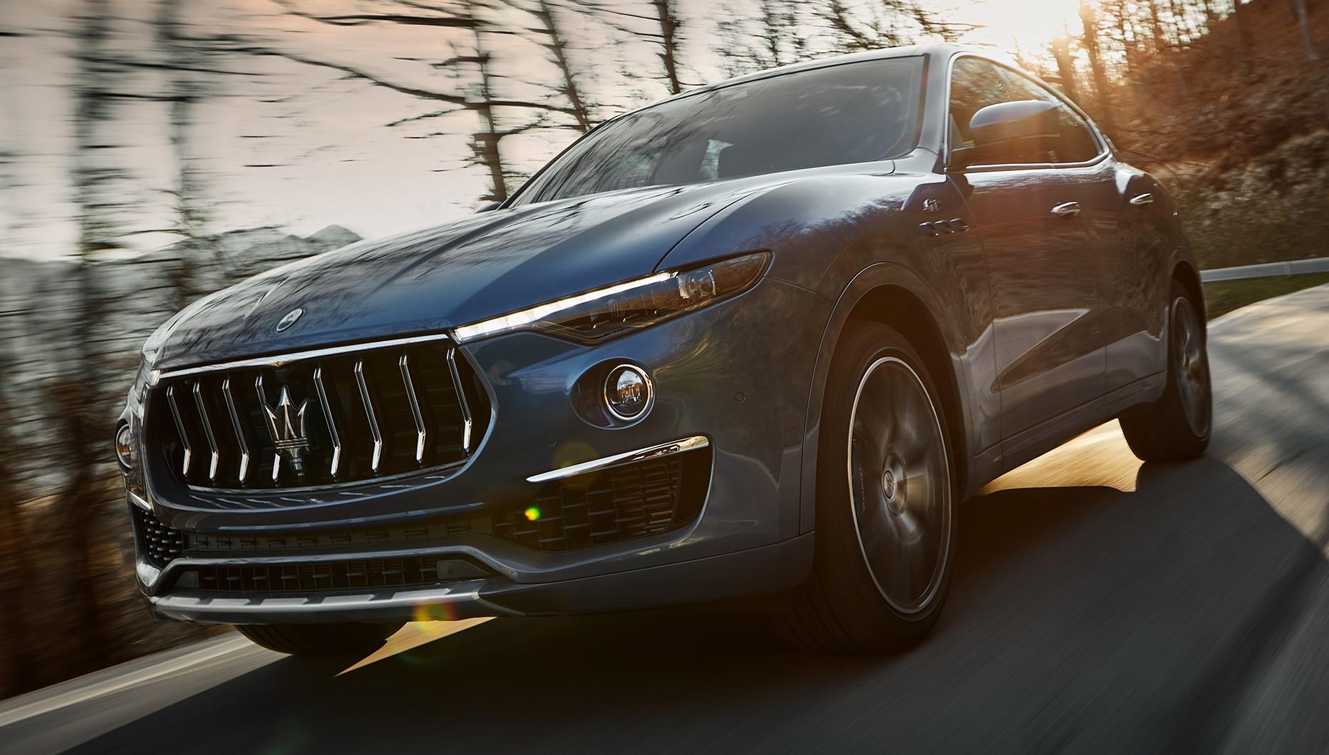 The new Maserati Levante Hybrid is unveiled
