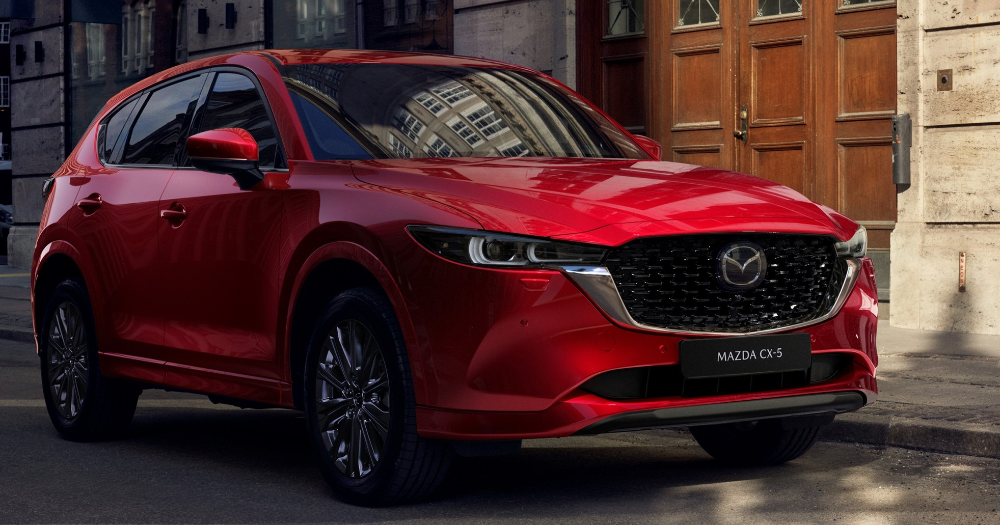 The Mazda CX-5 refresh for 2022 is revealed