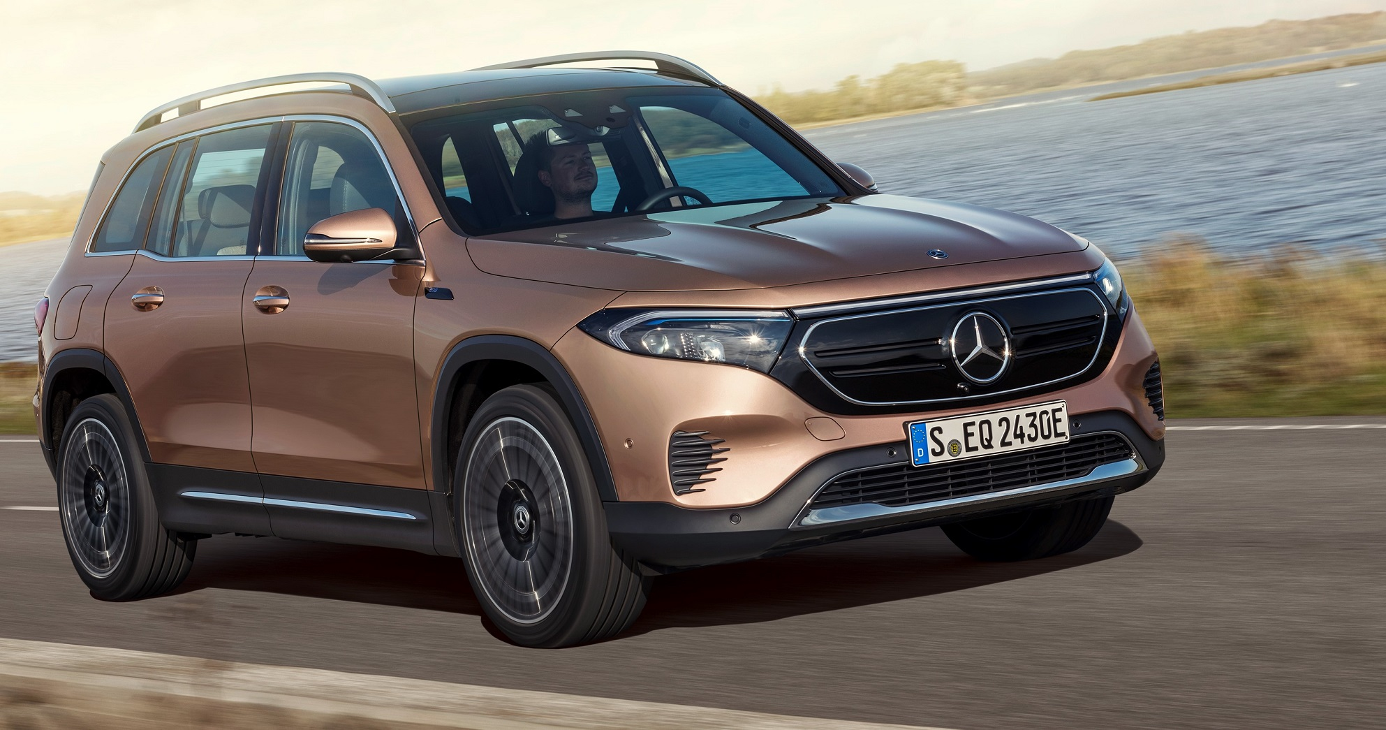 All-electric Mercedes EQB is revealed
