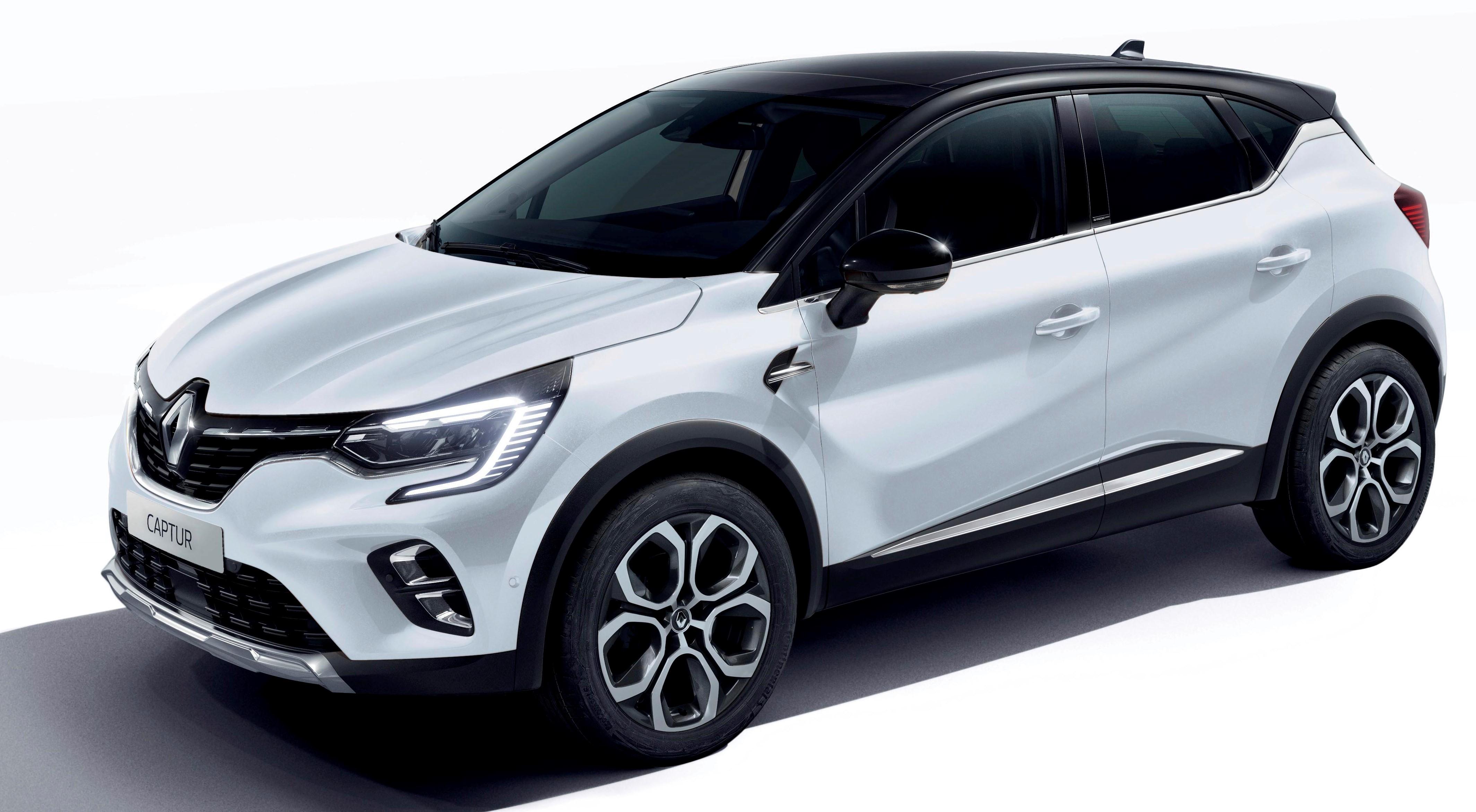 New Renault Captur E-Tech hybrid