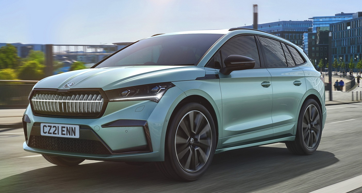 Electric Skoda Enyaq iV is unveiled