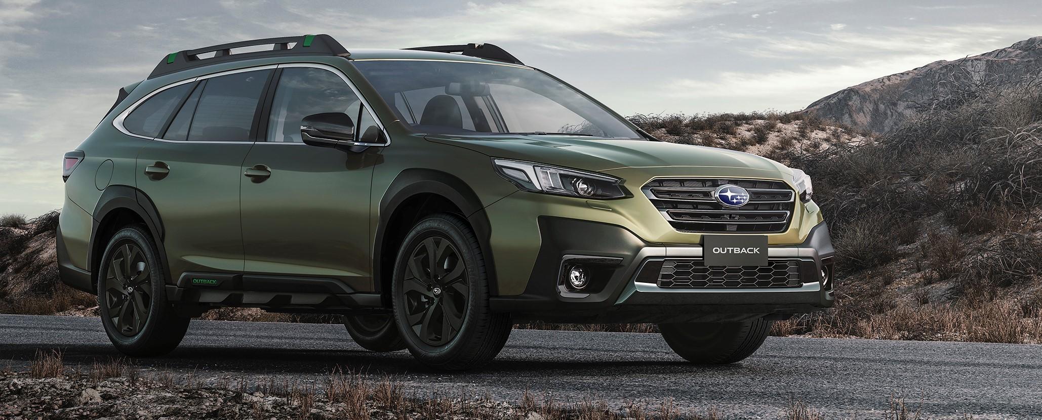 New Subaru Outback takes a bow