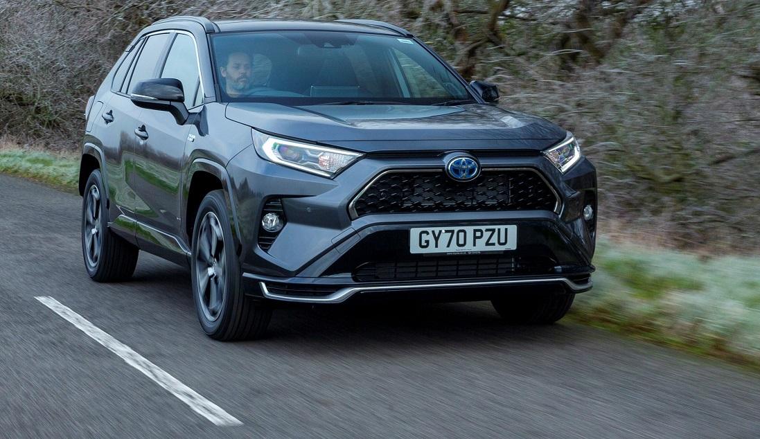 New Toyota RAV4 plug-in hybrid unveiled