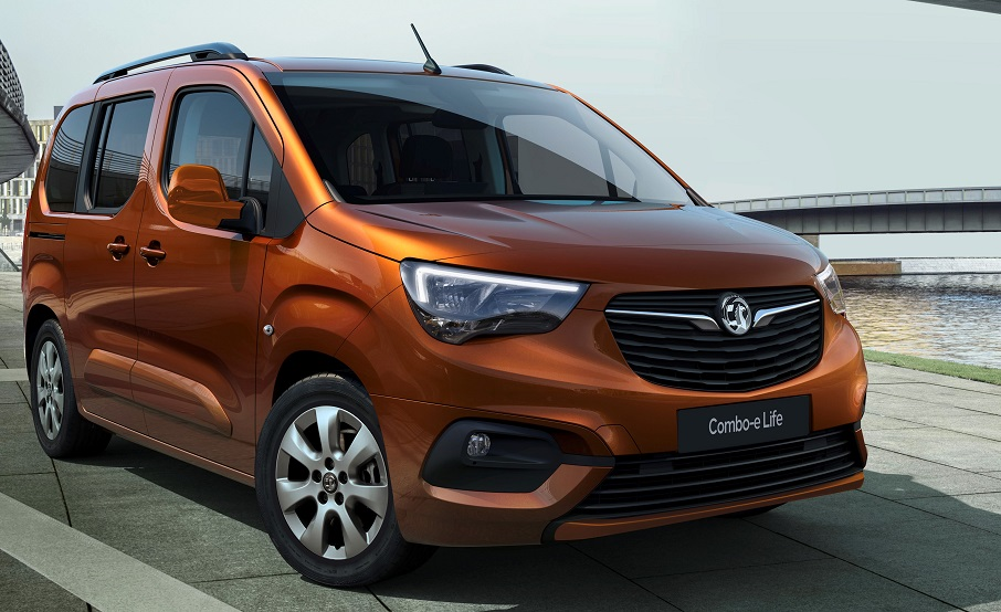 New electric Vauxhall Combo-e Life launched