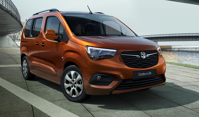 New Vauxhall Combo-e Life is unveiled
