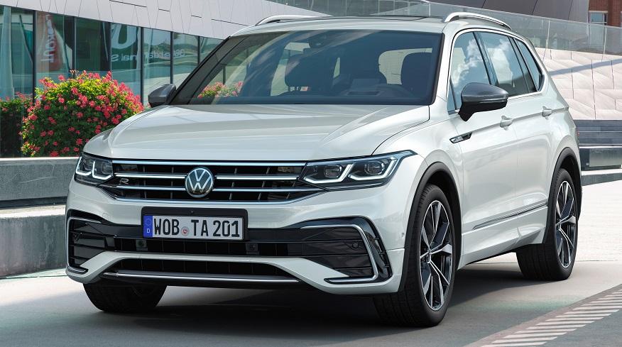 Volkswagen Tiguan Allspace gets an update