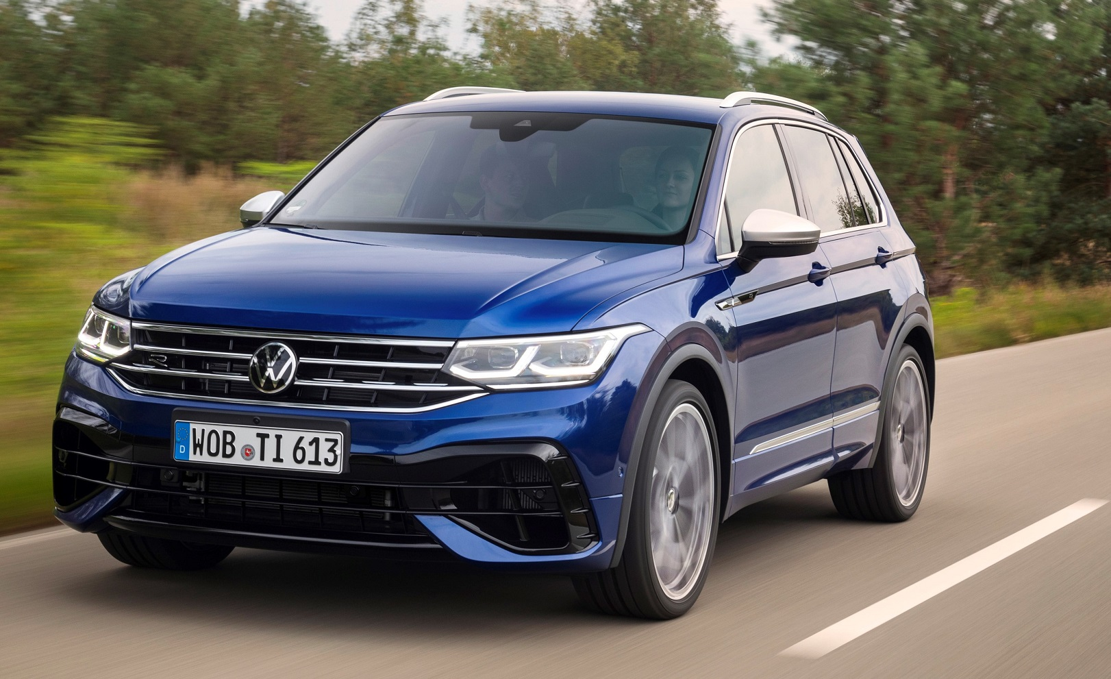 New Volkswagen Tiguan R takes a bow